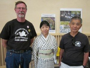 Dave Patterson and Tetsuo Matsui of Ramona with Chieko Shiina