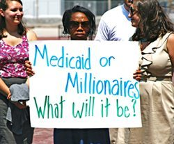 SDFP Millionaires for Medicaid