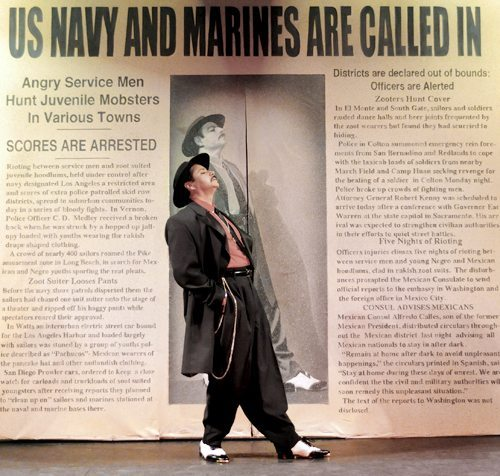 an introduction to the history of the zoot suit riots The zoot suit riots of 1943 the la zoot suit riots of 1943 were a targeted attack on the zoot suit riots were a dark moment in the history of la.