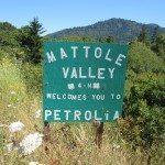 Petrolia Sign