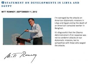 RomneyOnEgyptLibya