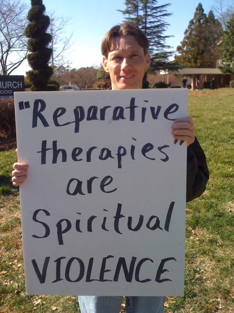 Reparative Therapy Violence