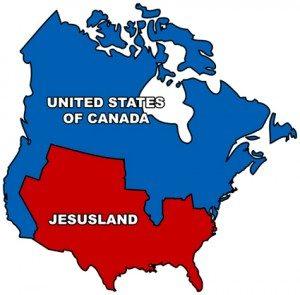 religious blue v red