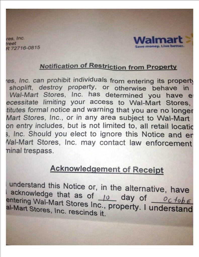 walmart business proposal