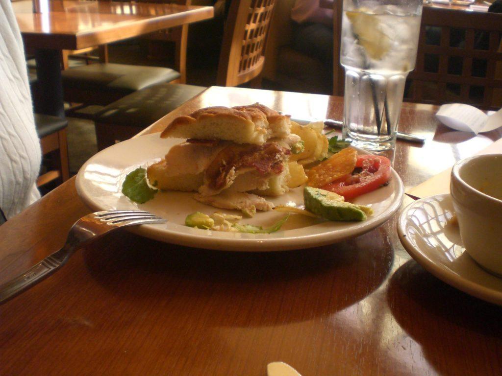 Hickory smoked chicken sandwich san diego free press
