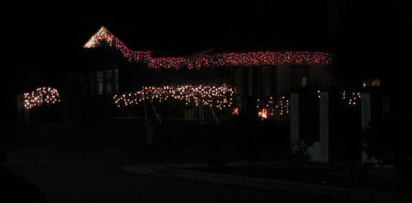 christmas lights 45th street