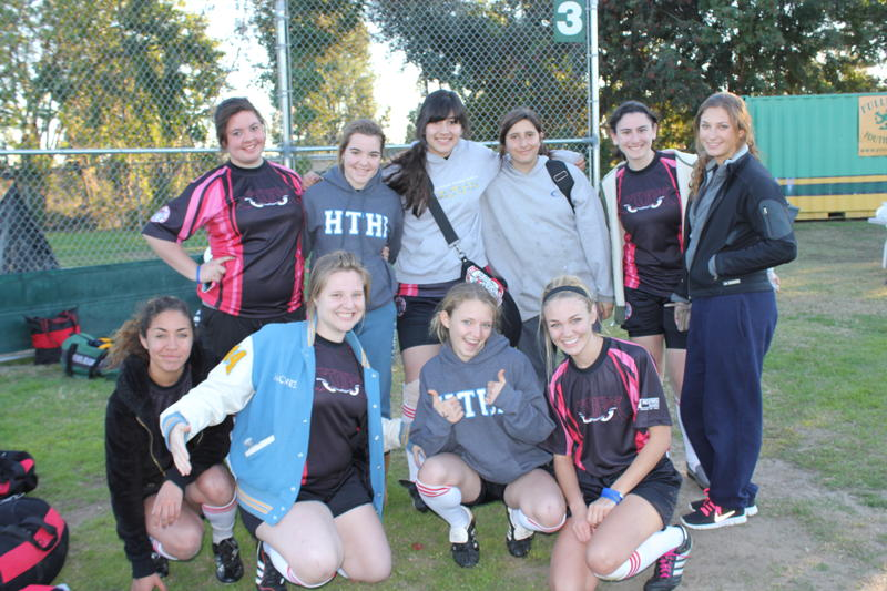 rugby girl team