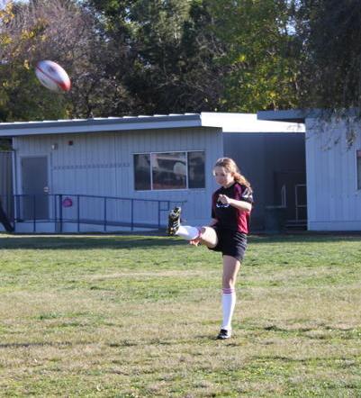 rugby girls kickball