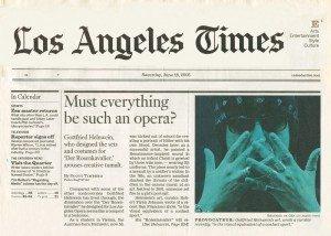 la times cover opera
