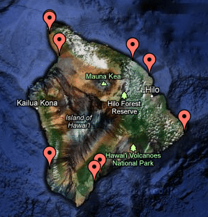 Hawaii County Campgrounds