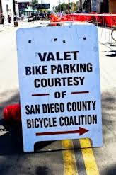 valet bike parking