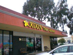 Restaurant Review Koon Thai Kitchen San Diego Free Press
