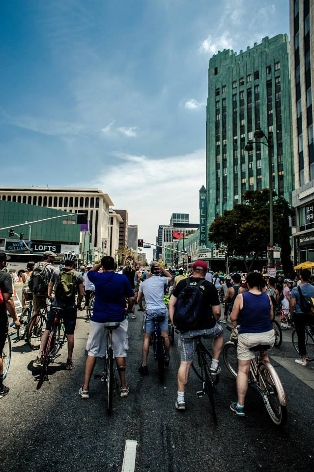 Photo from CicLAvia in Los Angeles, California, this June.