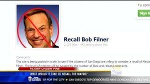 recall filner page