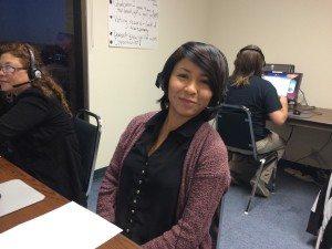 AFT intern Daniela