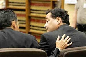 Castaneda reacting to not guilty verdict. Photo via Bardsley & Carlos LLP