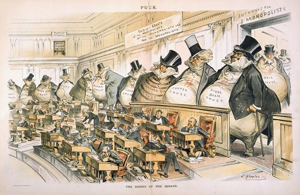 The Chamber's vision of Democracy: a return to the Gilded Age