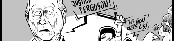 """Post image for """"Anglo-American"""" Justice in Ferguson"""