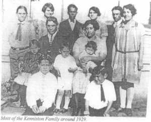 Photograph of Kenniston Family circa 1929