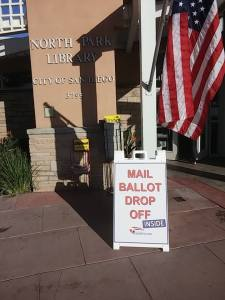 Post image for November 2014 Election Ballot Drop-Off Locations in San Diego County