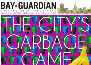 Bay Guardian Front Page