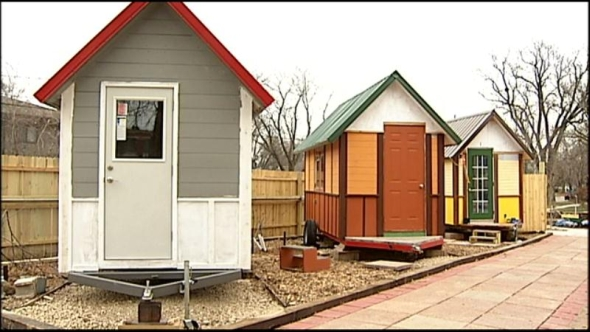 Tiny Home Village for Homeless Opens in Wisconsin San Diego Free