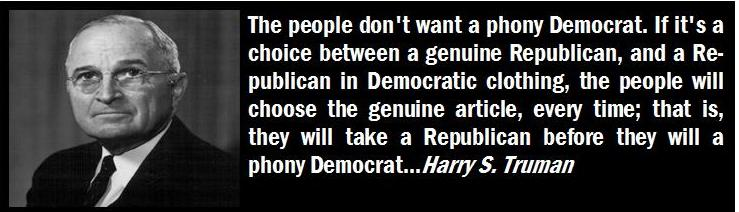 Harry Truman, Truth Teller