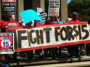 Post image for Super Sized #Fightfor15 Protests, Value Meal Press Coverage