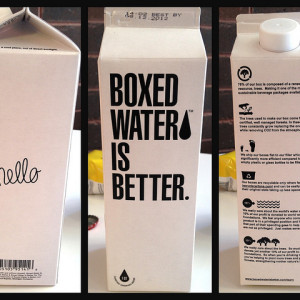 Boxed water is better