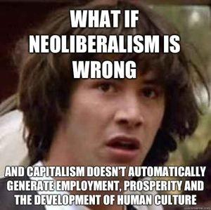 No neoliberalism