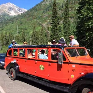 Daily Kos EPIC Glacier National Park Red Bus tour, 2015.