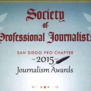 SDFP Claims Eight Journo Awards for 2015