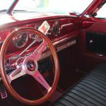 Marisa's 1949 Hudson Brom dashboard