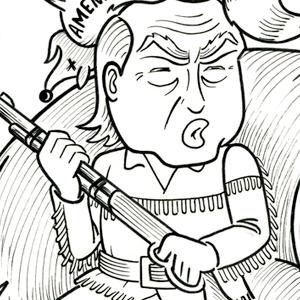 Trump on the Hunt
