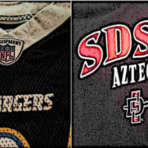 Are the NFL Chargers Causing the NCAA Aztecs to Lose?