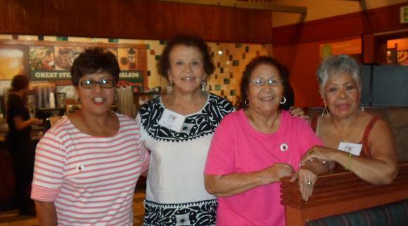 Helen Huerta's daughter, Maria Garcia, Helen Huerta, Gloria Serrano-Medina