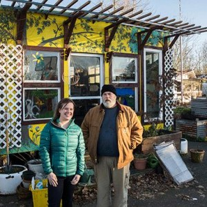 In a Tiny House Village, Portland's Homeless Find Dignity