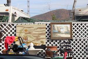 Junkyard Artwork In A Home