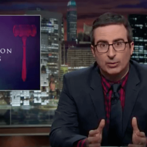 John Oliver Takes on Abortion. Yes, He Goes 'There'—and He Goes There Well