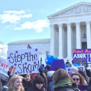 With Women's Rights On the Line, Groups Demand Supreme Court #StoptheSham