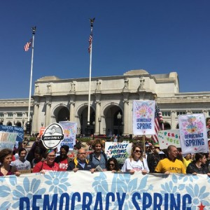 A Democratic Spring: Thousands March on Washington Demanding Fixes to a Broken Political System