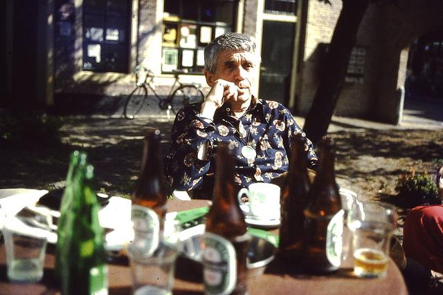 Dan Berrigan visit 1982