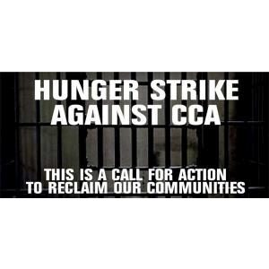 Hunger Strike Against Private Prison