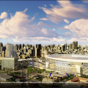 Architects Pan Charger Football Stadium Proposal