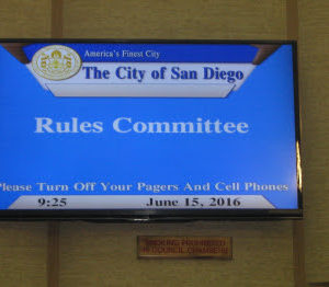 Democracy in Action at City Council Rules Committee