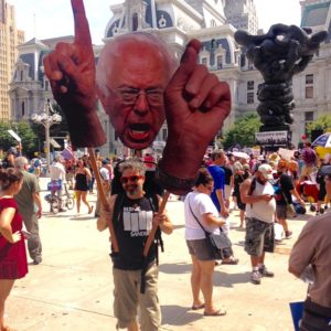 Bernie Delegates Walk Out: Day 2 of the DNC