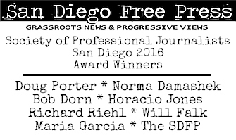 SDFP SPJ-SD 2016 award winners banner