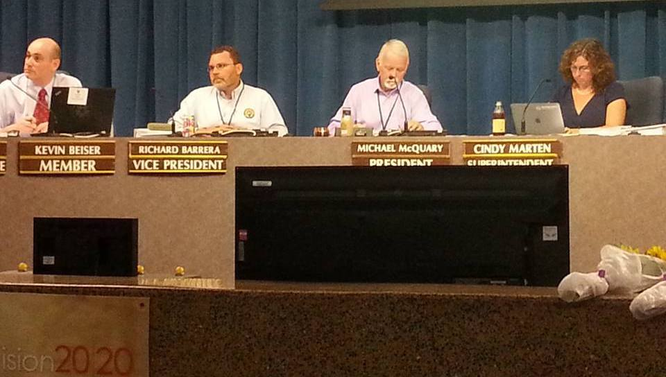 San Diego Unified School Board meeting, July 26, 2016