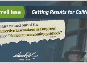 Fact Checking the Darrell Issa Campaign Mailer You Paid For