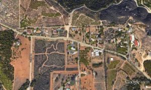Lilac Hills Ranch area via Google Earth